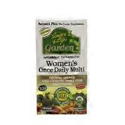 Nature's Plus Women's Once Daily Multi, Vegan Tablets