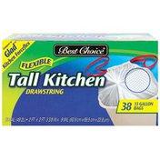 Best Choice Drawstring Flexible Tall Kitchen Bags