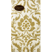 Caspari Napkins, Baroque Ivory, Triple-Ply