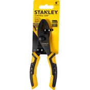 Stanley Slip Joint Pliers, 6 Inch