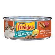Purina Friskies Tasty Treasures Chicken Tuna & Cheese