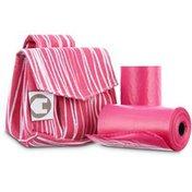 So Phresh Pink Safari Fabric Bag Dispensers