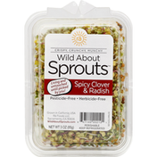 Wild About Sprouts Sprouts, Spicy Clover & Radish