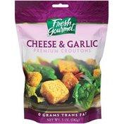 Fresh Gourmet Cheese & Garlic Pepper Croutons