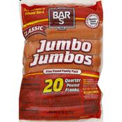 Bar-S Quarter Pound Jumbo Jumbos Franks
