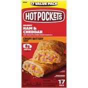 Hot Pockets Hickory Ham & Cheddar Frozen Sandwiches