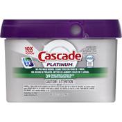 Cascade Dishwasher Detergent, Fresh Scent, Action Pacs