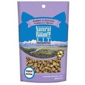 Natural Balance L.i.t. Limited Ingredient Treats Cat Treats, Rabbit & Potato Formula Treats