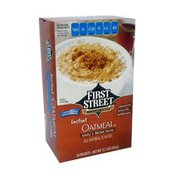 First Street Instant Oatmeal
