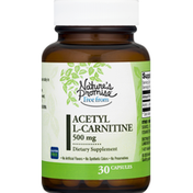 Nature's Promise Free From Acetyl L-Carntine 500 Mg