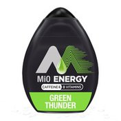 MiO Green Thunder Naturally Flavored Liquid Water Enhancer with Caffeine & B Vitamins