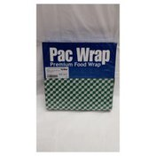 Case Of 12 X12 Green Check Grease Resistant Sheet