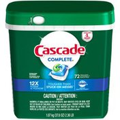 Cascade Complete ActionPacs Dishwasher Detergent, Fresh Scent Dish Care