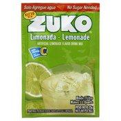 Zuko Drink Mix, Artificial Lemonade Flavor
