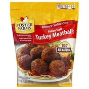 Foster Farms Turkey Meatballs, Italian Style, Dinner Solutions