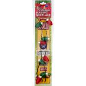 Magic Seasons Shawshank Ledz Flashing Necklace, Red & Green, Classic, Card