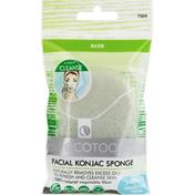 EcoTools Facial Konjac Sponge, Aloe