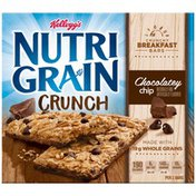 Kellogg's Nutri-Grain Crunch Chocolatey Chip Breakfast Bars
