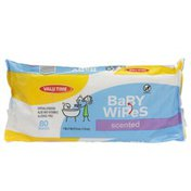 Valu Time Baby Wipes, Scented