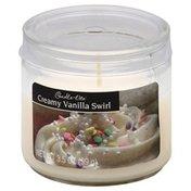 Candle Lite Candle, Creamy Vanilla Swirl