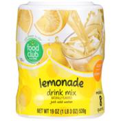 Food Club Lemonade Drink Mix