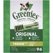 GREENIES Original Teenie Dental Dog Treats