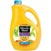 Minute Maid Kids+ Pulp Free 100% Orange Juice