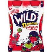 Danimals Wild by Strawberry Smash Smoothies