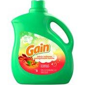 Gain Liquid Fabric Softener, Tropical Sunrise, 129 fl oz 150 loads