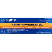 CareOne Arthritis Pain Relief Gel, Original Prescription Strength
