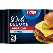 Kraft American Cheese Slices with 2% Milk