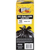 Ruffies Pro Wing Tie 55 Gallon Ruffies Pro Wing Tie 55 Gallon Drum Liners