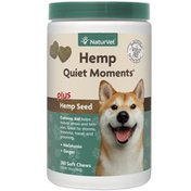 NaturVet Quiet Moments Hemp Soft Chews for Dogs