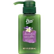 Etos Hand Lotion, Lavender Vanilla