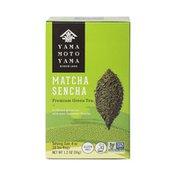 Yamamotoyama Signature Matcha Sencha Green Tea Bags