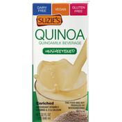 Suzie's Quinoamilk Beverage, Enriched, Unsweetened
