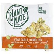 Plant To Plate Vegetable Dumpling