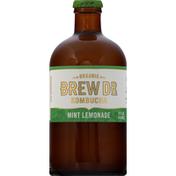 Brew Dr. Kombucha Kombucha, Organic, Mint Lemonade