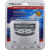Midland Emergency Weather Alert Radio, With Alarm Clock