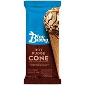 Blue Bunny Hot Fudge Blue Bunny Hot Fudge Ice Cream Cone