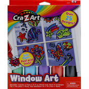 Cra-Z-Art Window Art
