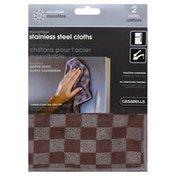 Casabella Cloths, Stainless Steel, Microfiber