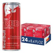 Red Bull Energy Drink, Cranberry