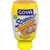 Goya Minced Garlic, Squeez-it Bottle