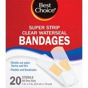 Best Choice Waterseal Super Strip Clear 1 Inch