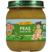 Earth's Best Stage 2 Peas Organic Baby Food