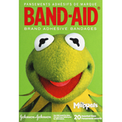 Band-Aid Adhesive Bandages, The Muppets, Assorted Sizes