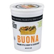Buona Italian Style Gravy & Sliced Beef