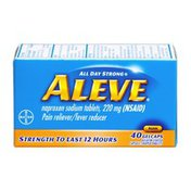 Aleve Pain Reliever/Fever Reducer Gelcaps - 40 CT