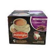 Indulgio Case Of Milk Chocolate Flavored Single Serve Brew
